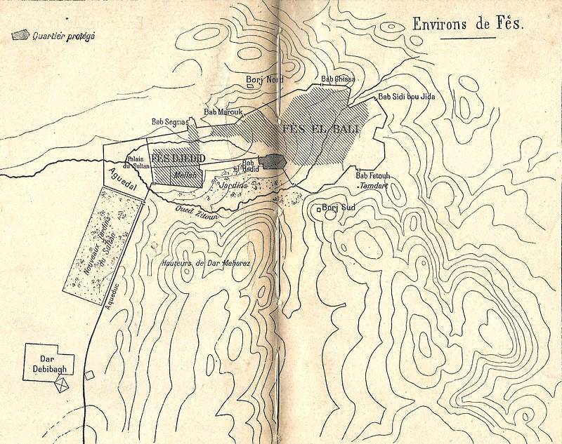 HUBERT-JACQUES : Les journées sanglantes de fez, avril 1912. Bascan16