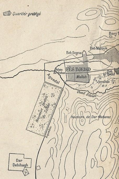 HUBERT-JACQUES : Les journées sanglantes de fez, avril 1912. Bascan18