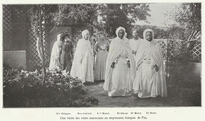 HUBERT-JACQUES : Les journées sanglantes de fez, avril 1912. Bascan19