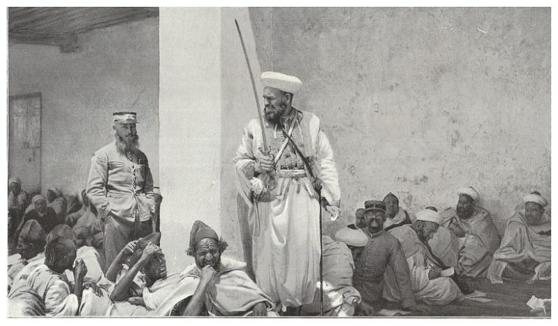 HUBERT-JACQUES : Les journées sanglantes de fez, avril 1912. Bascan20