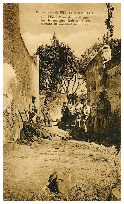 HUBERT-JACQUES : Les journées sanglantes de fez, avril 1912. - Page 4 Bascan45