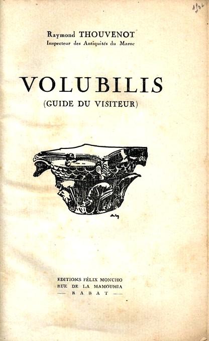 VOLUBILIS : LE GUIDE DU VISITEUR Guide_13