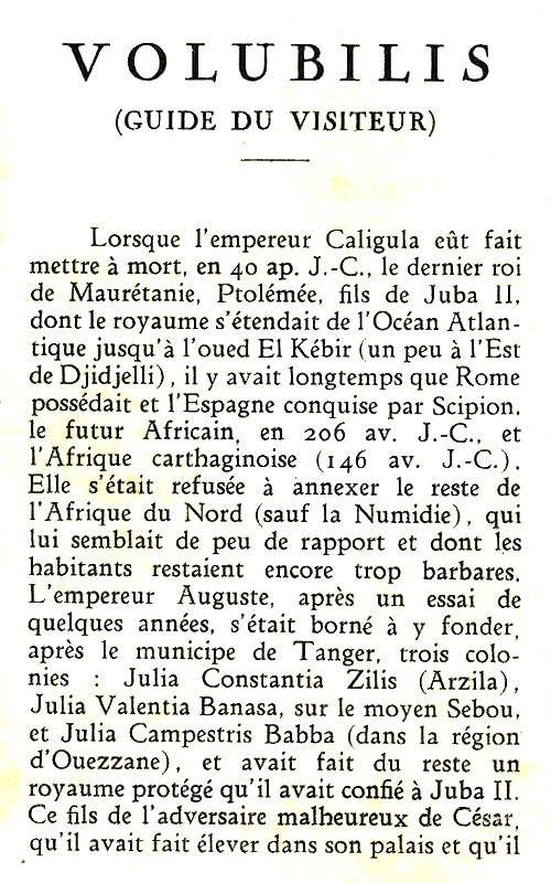 VOLUBILIS : LE GUIDE DU VISITEUR Guide_15