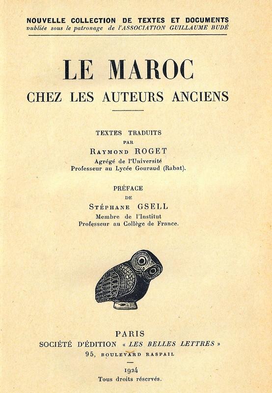 Le MAROC chez les auteurs anciens Maroc_10