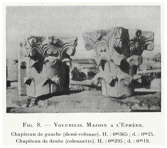 VOLUBILIS : LES SCULPTURES - Page 2 Thouve17