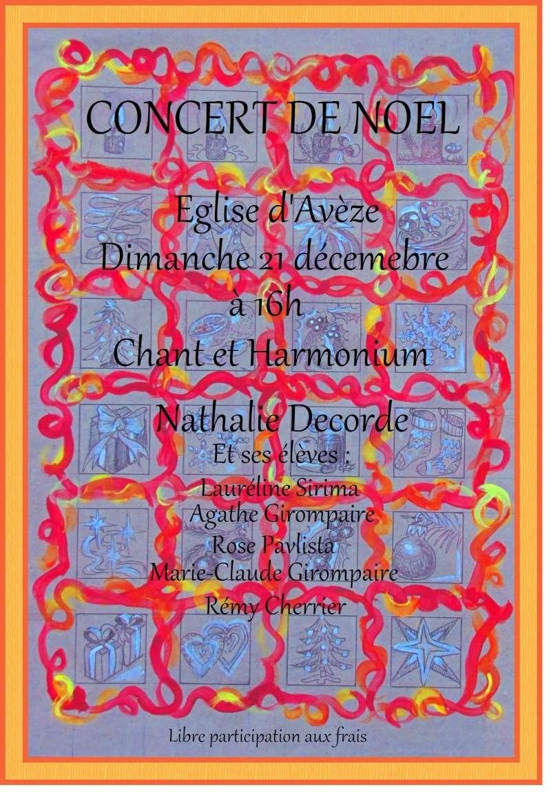 Concert de Noël dimanche 21 décembre 2014 Affich10