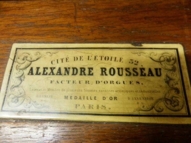 Harmonium Rousseau (ancien) P5192011