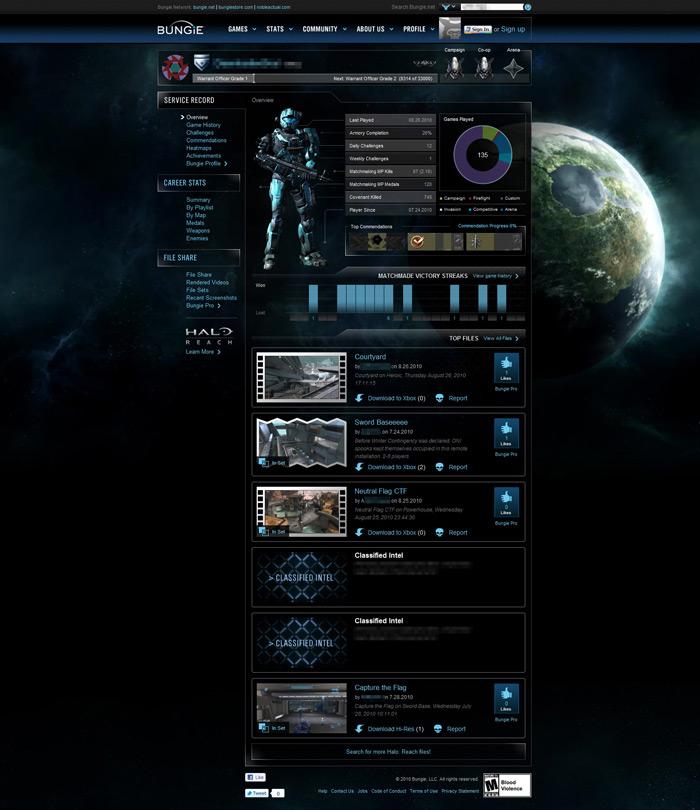 Bungie.net pour Halo Reach (Statistiques/Stats) Servic10