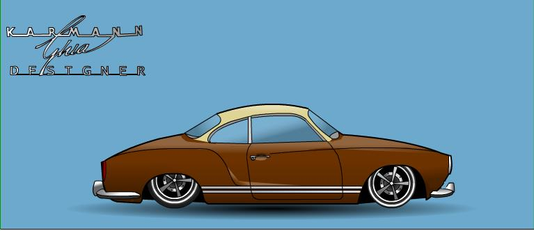 karmann ghia type 14 1971 ( top chop , air ride .....) Karman11