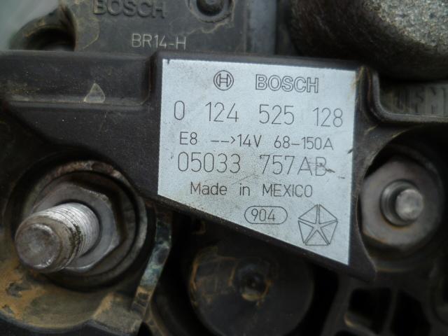 Remplacement alternateur Dodge Caliber 2.0 CRD P1010732