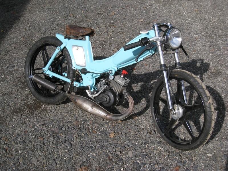 motobécane 88 légèrement customisée  00213