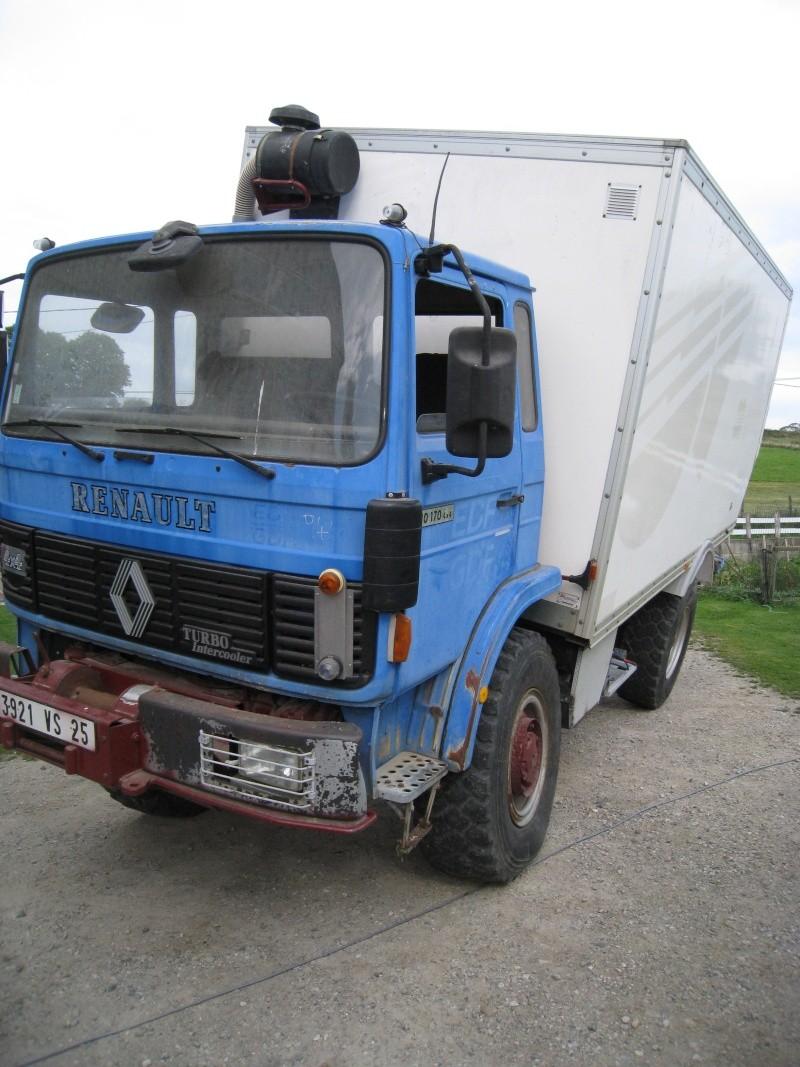 camping car à partir d'un Renault 110-170 4x4 : 00810