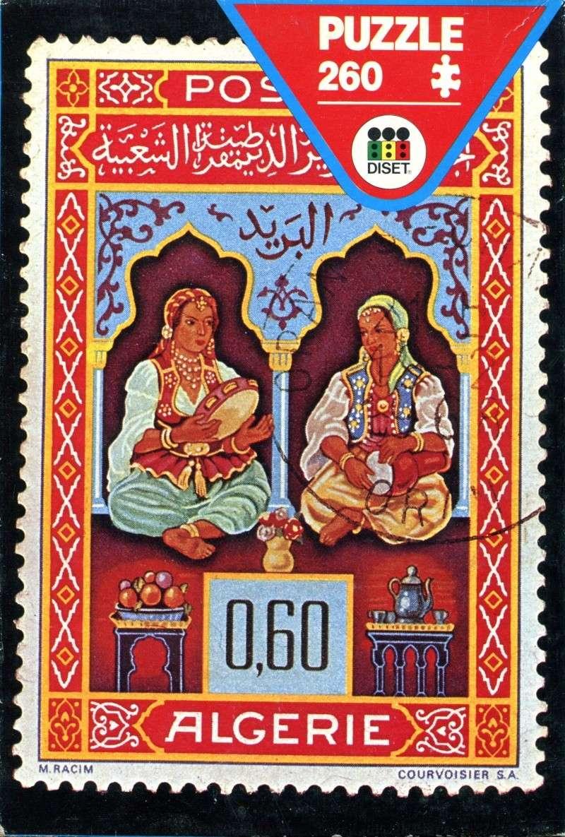 Puzzle Algérie Post du début des années 80 Puzzle12