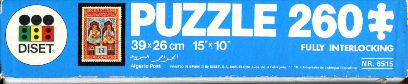 Puzzle Algérie Post du début des années 80 Puzzle23