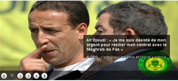 Azzedine AIT DJOUDI (Ex-Entraineur) 20130710