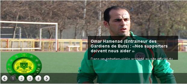 Aomar Hamenad [Entraineur des Gardiens de buts] 20130719