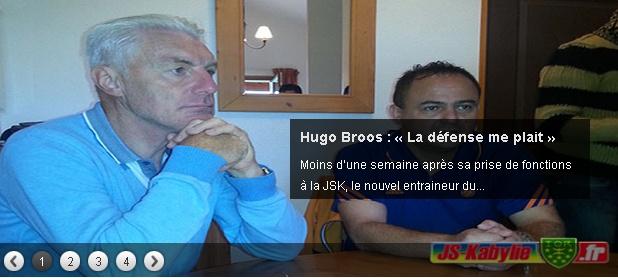 [Ex-Entraineur] Hugo BROOS 20140715