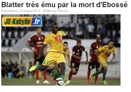 "Affaire ""Albert EBOSSE"" (Sanctions FAF+CAF) - Page 3 20140827"