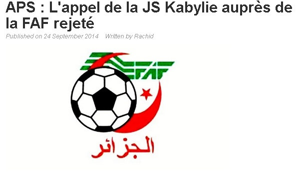 "Affaire ""Albert EBOSSE"" (Sanctions FAF+CAF) - Page 7 20140922"