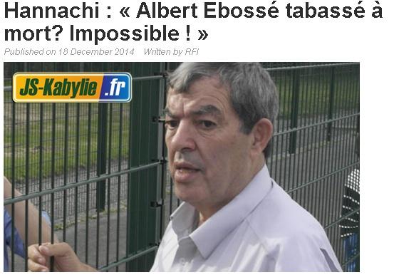 "Affaire ""Albert EBOSSE"" (Sanctions FAF+CAF) - Page 11 20141217"