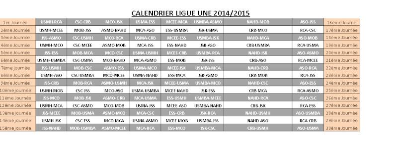 Championnat de Ligue 1 [2014-2015] Caland10