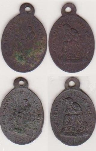 Médaille Assomption Vierge Marie - XVIIème 11664410