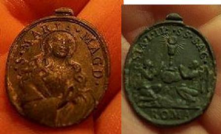 Médaille Assomption Vierge Marie - XVIIème 64658r10