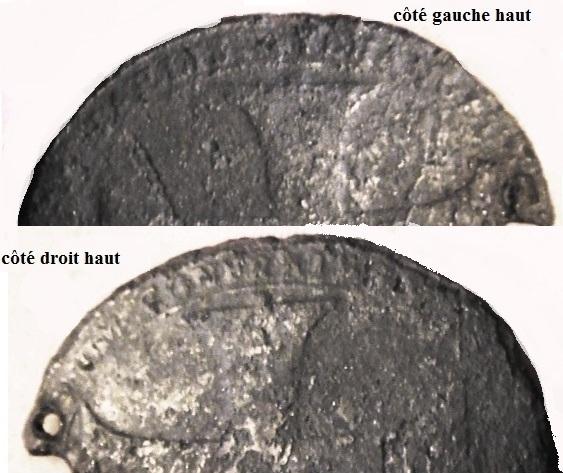 Médaille belge - Joseph Clément de Bavière 1694-1723 - Médaille de la Confrérie de Saint-Michel Dsc01810
