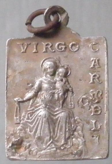 Médaille ND-du-Rosaire - XVIIème  Virgo_10