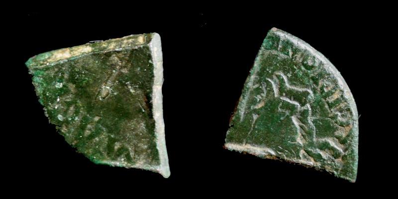 Fragments de monnaies Agripp10
