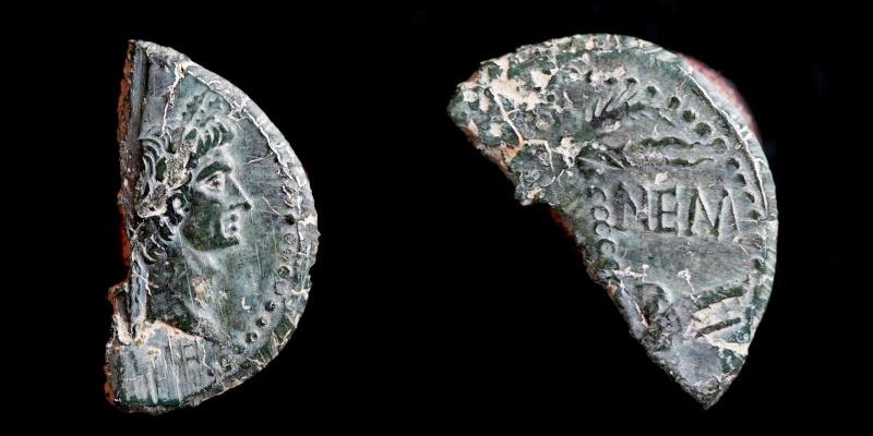 Fragments de monnaies Col-ne10