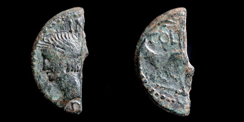 Fragments de monnaies Col-ne12