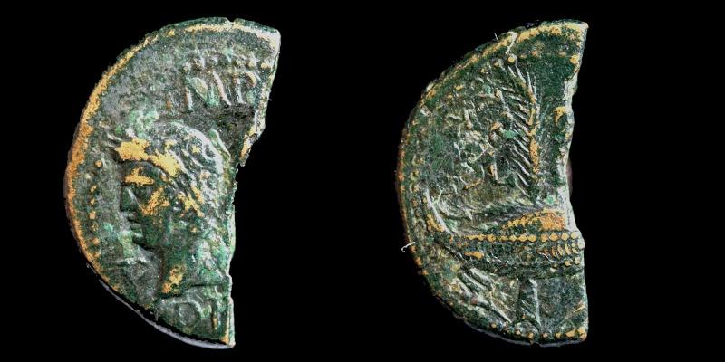 Fragments de monnaies Col-ne14
