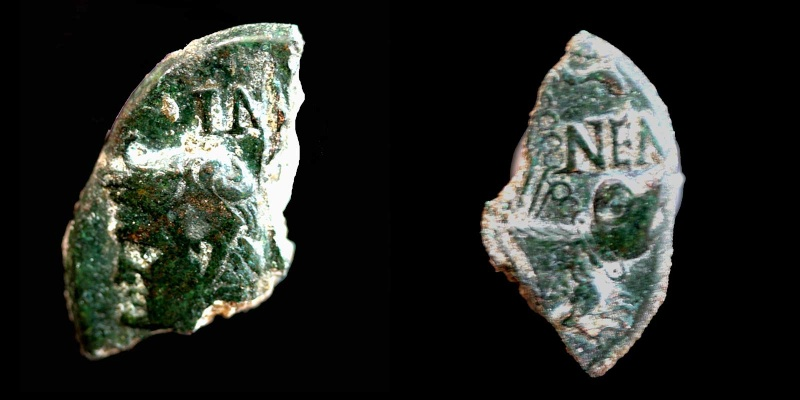 Fragments de monnaies Col-ne15