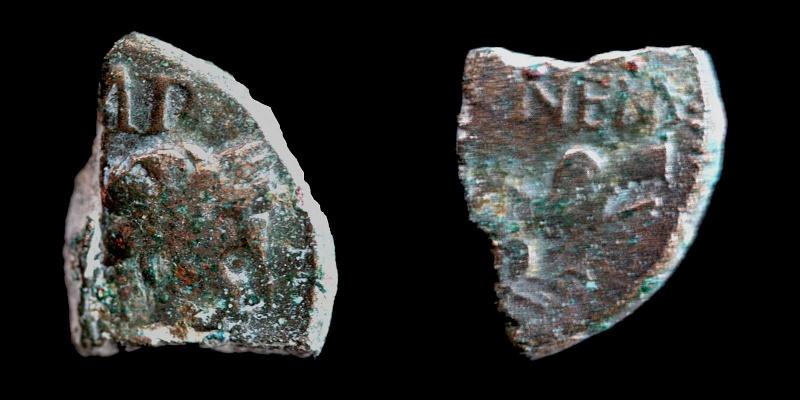 Fragments de monnaies Col-ne17
