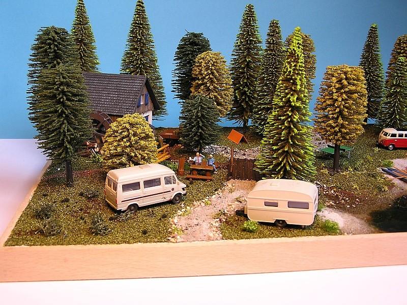 Gemeinsame Interessen - ein Diorama für zwei in 1:87 212