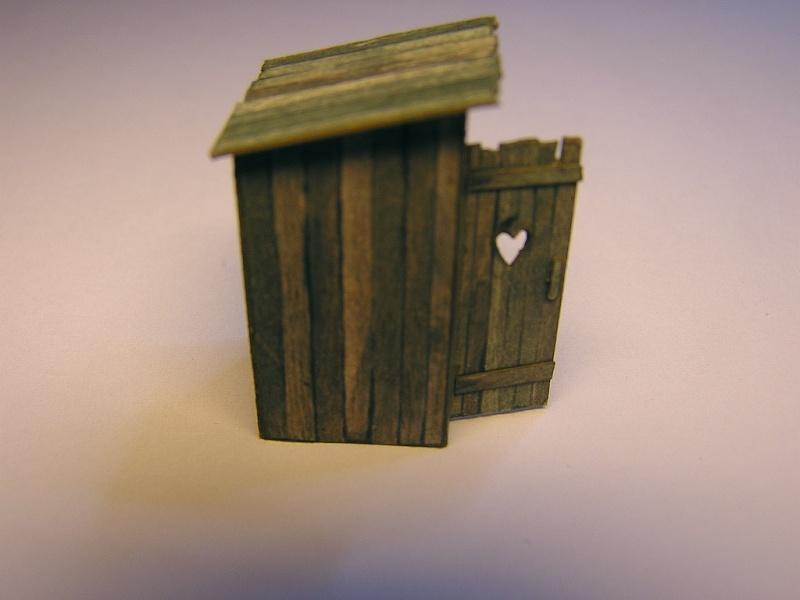 Ein kleines Häuschen für wichtige Bedürfnisse - 1:87 411
