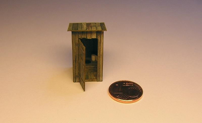 Ein kleines Häuschen für wichtige Bedürfnisse - 1:87 511