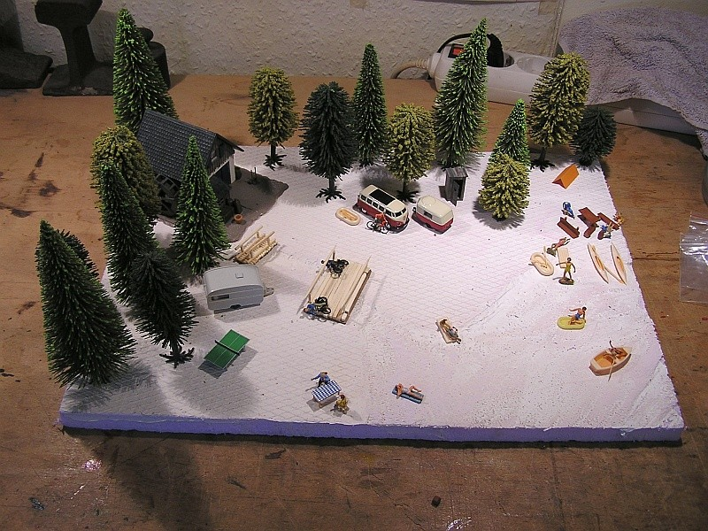 Gemeinsame Interessen - ein Diorama für zwei in 1:87 C10