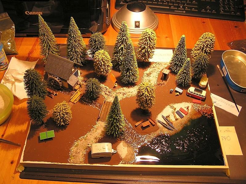 Gemeinsame Interessen - ein Diorama für zwei in 1:87 K10