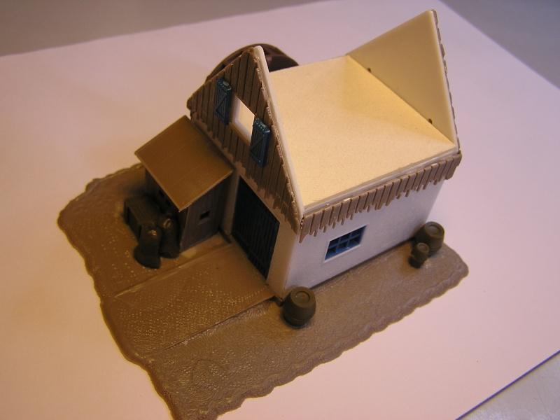 Gemeinsame Interessen - ein Diorama für zwei in 1:87 P1010038