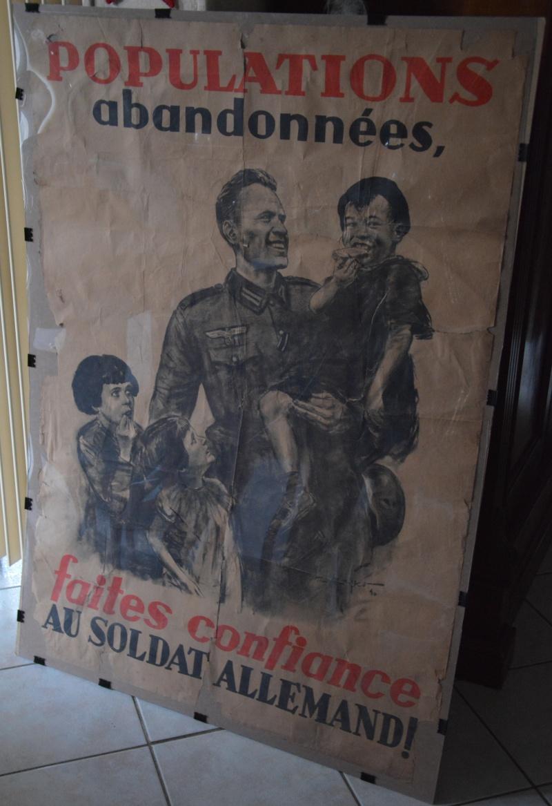 première affiche de propagande nazie en France Affich12