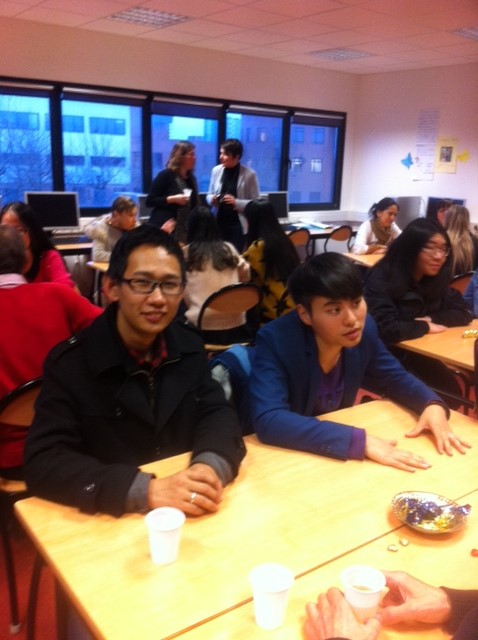 Noël au CUEEP de Calais avec les étudiants étrangers Chinoi10