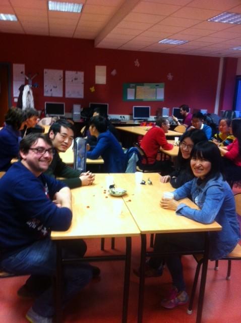 Noël au CUEEP de Calais avec les étudiants étrangers Chinoi11