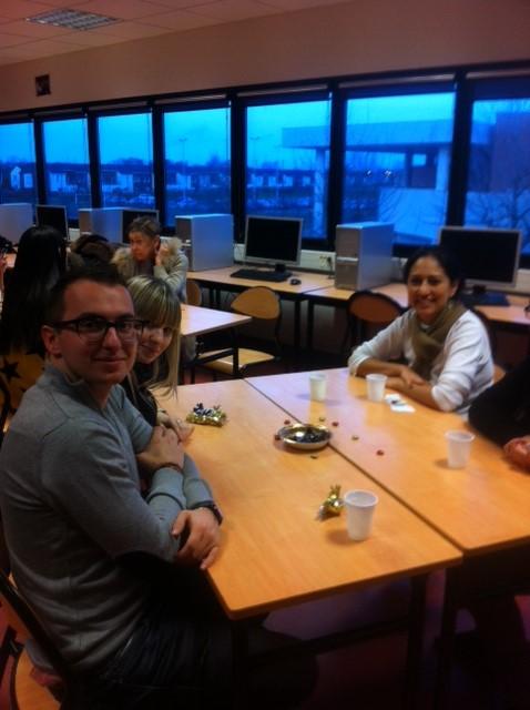 Noël au CUEEP de Calais avec les étudiants étrangers Chinoi12