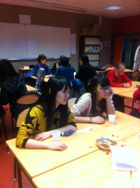 Noël au CUEEP de Calais avec les étudiants étrangers Chinoi13
