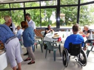 Pique-nique inter cafés polyglottes le samedi 28 juin 2014 (Souvenirs de la journée) P1000819