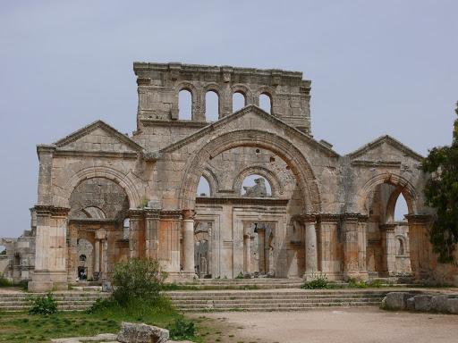 Basilique St Simon ou Simeon Alep Syrie Alep110