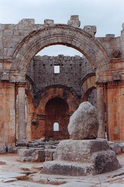 Basilique St Simon ou Simeon Alep Syrie Alep210