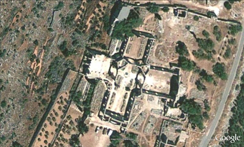 Basilique St Simon ou Simeon Alep Syrie Alep310